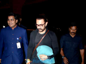 Aamir Khan, Karan Singh and others snapped at the airport