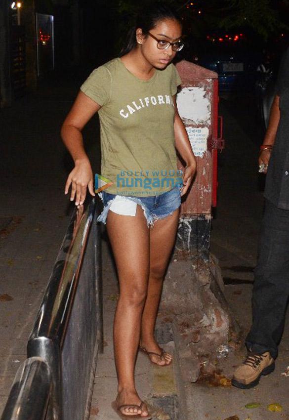 Ajay Devgn's daughter Nysa Devgn snapped in Juhu