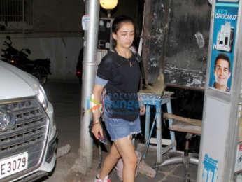 Akshara Haasan spotted in Bandra