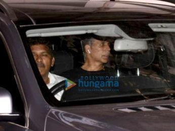 Akshay Kumar snapped at Sunny Super Sound in Juhu