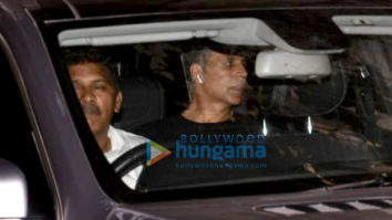 Akshay Kumar snapped at Sunny Super Sound in Juhu