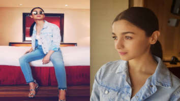 Alia Bhatt slays the denim on denim trend for Raazi promotions