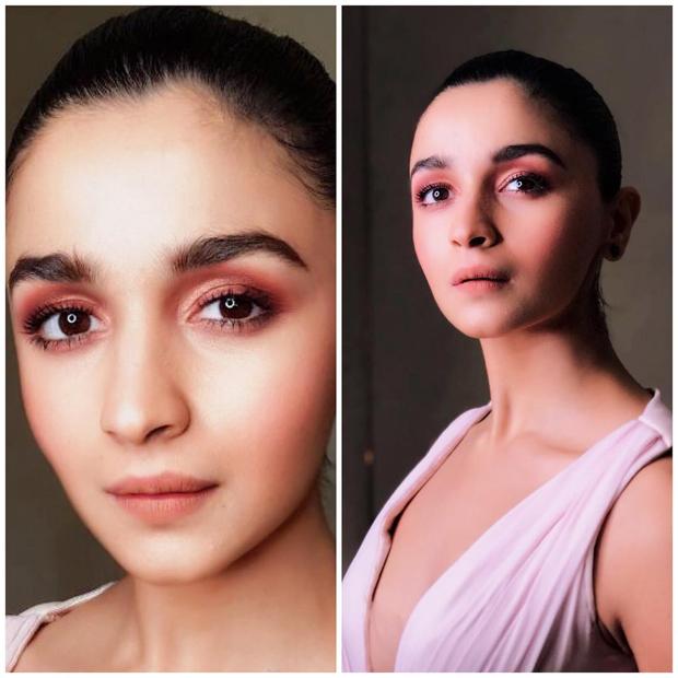 Alia Bhatt ups the look with bold yet minimalist makeup