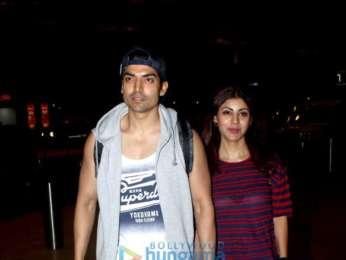 Deepika Padukone, Anushka Sharma, Neha Dhupia and others snapped at the airport
