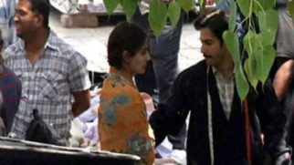 Sui Dhaaga Candid Clicks: Anushka Sharma-Varun Dhawan look unrecognisable as they shoot in Delhi