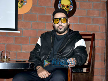 Badshah graces the press conference to announce the launch of a new restaurant and lounge 'Dragonfly'