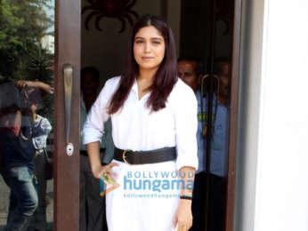 Bhumi Pednekar and Khushi Kapoor spotted at Bastian