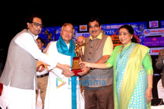 Celebs at Lata Mangeshkar Awards 2018