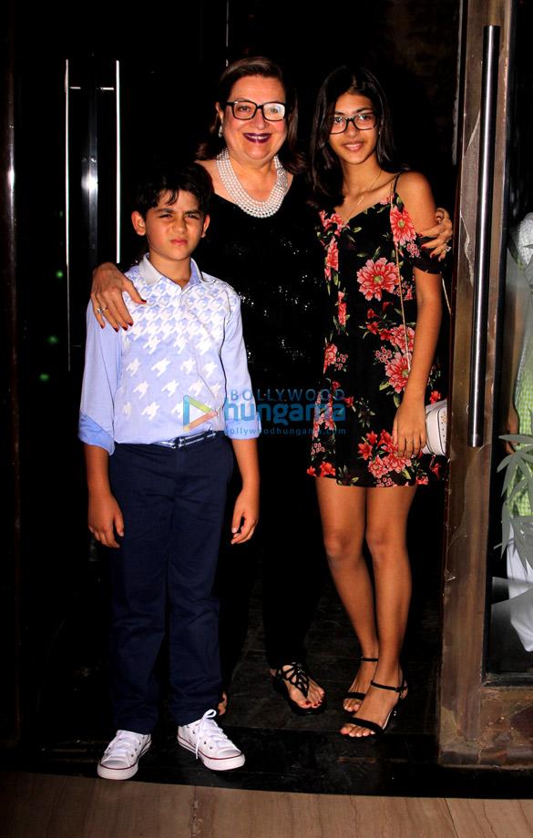 Celebs grace Babita Kapoor's birthday bash