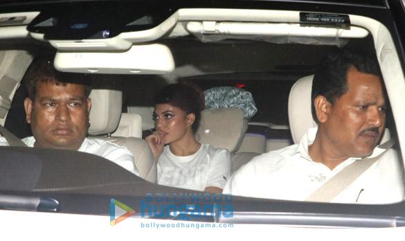 Celebs visit Salman Khan's home