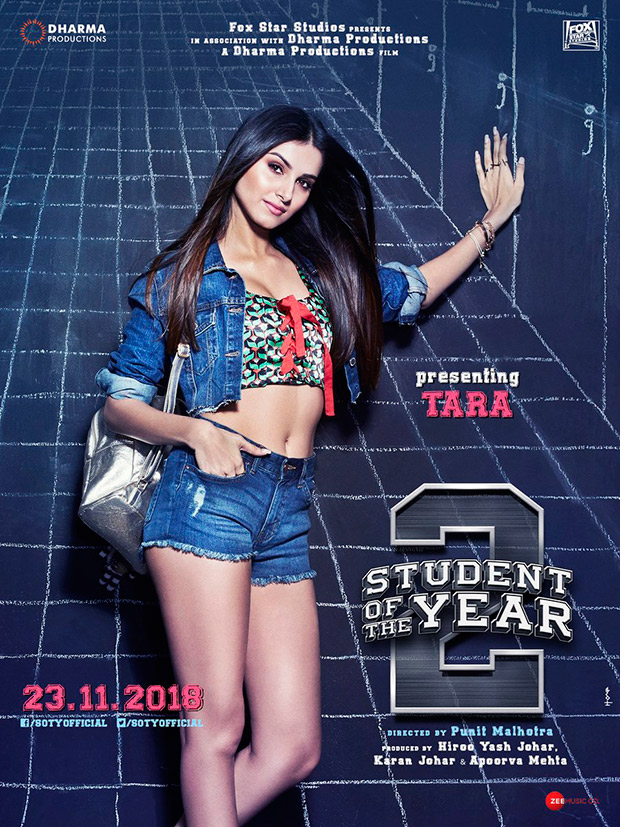 REVEALED: Disney VJ Tara Sutaria makes her Bollywood debut alongside Tiger Shroff in Student of the Year 2
