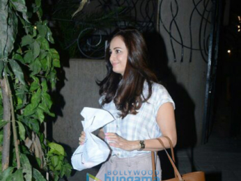 Dia Mirza snapped at BBlunt salon in Juhu