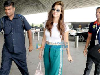 Disha Patani and Varun Sharma snapped at the airport