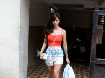 Disha Patani spotted in Bandra