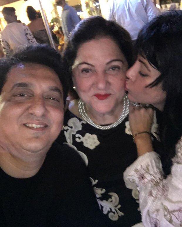 Sajid Nadiadwala and Warda Nadiadwala celebrate Divya ...  Sajid Nadiadwal...