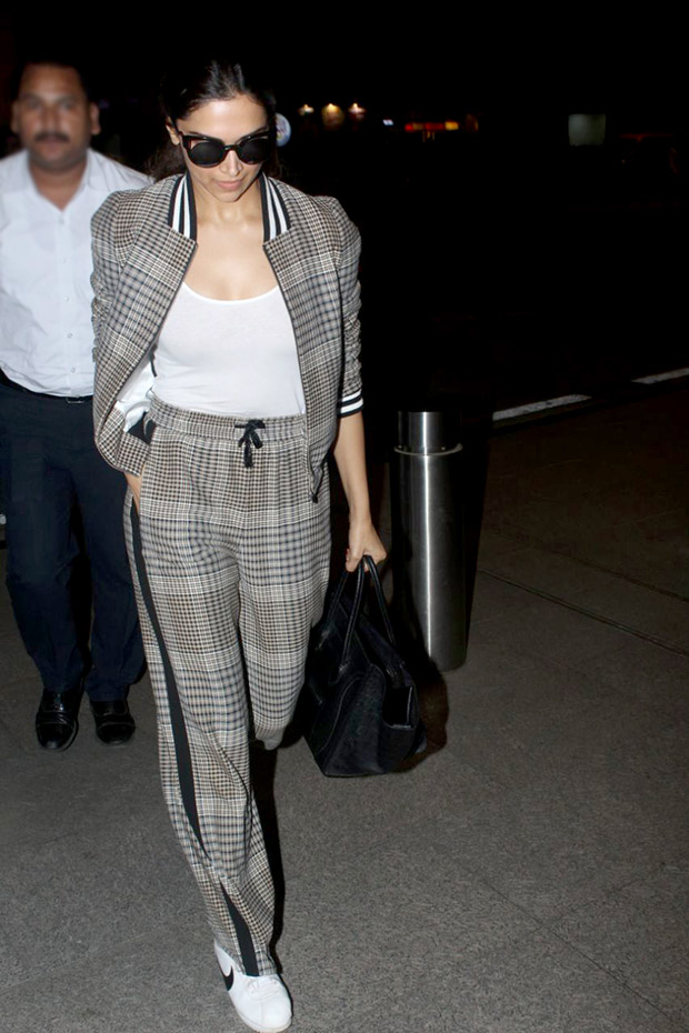 Easy chic - Deepika Padukone aces the cool girl athleisure vibe
