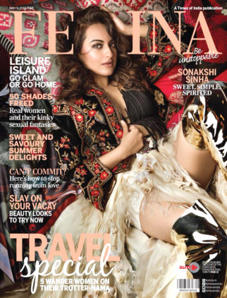 Sonakshi Sinha On The Cover Of Femina