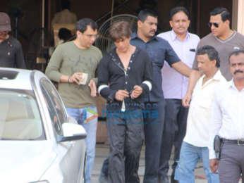 Hrithik Roshan, Shah Rukh Khan and Katrina Kaif snapped at Mehboob Studio