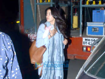 Ishaan Khatter and Janhvi Kapoor shoot for Dhadak at Hansraj School