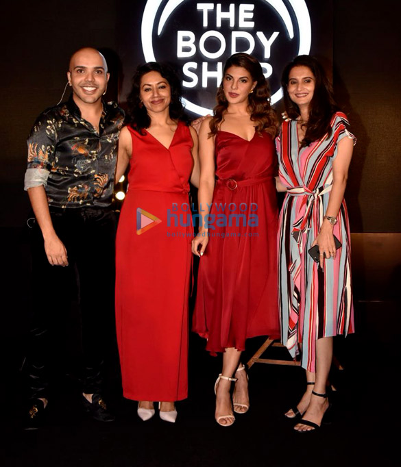 Jacqueline Fernandez graces the Body Shop event