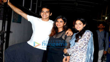 Janhvi Kapoor and Ishaan Khatter spotted after wrap up of Dhadak in Bandra