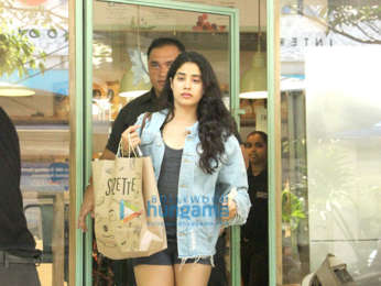Janhvi Kapoor at The Kitchen Garden