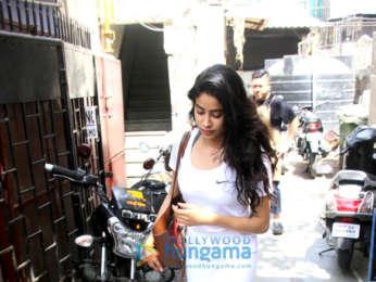 Janhvi Kapoor snapped in Bandra
