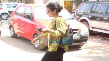 Kajol spotted in Versova