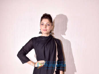 Kanika Kapoor snapped attending a single launch