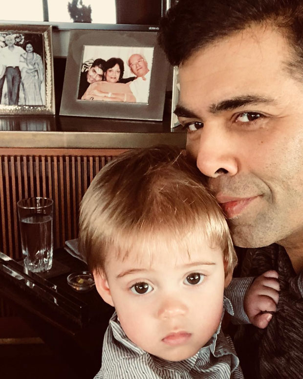 Karan Johar's selfie with baby Yash is the cutest pic you will see today