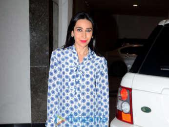 Kareena Kapoor Khan and Karisma Kapoor spotted at Manisha Malhotra's house
