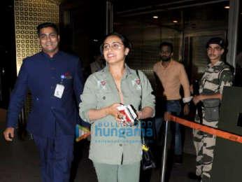Kareena Kapoor Khan and Rani Mukerji snapped at the airport