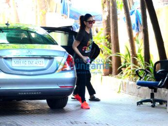 Kareena Kapoor Khan snapped post her gym session in Bandra
