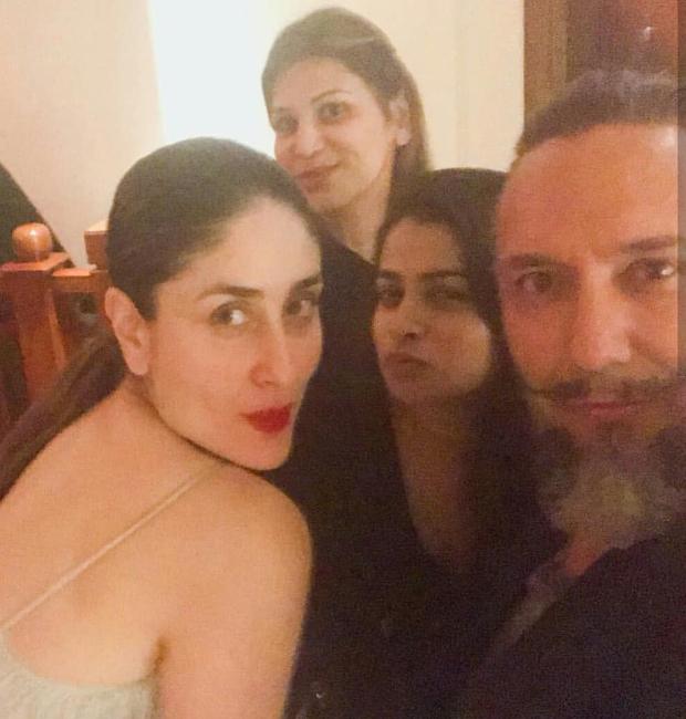 Kareena Kapoor Khan sports bright red lips and a metallic look in Dubai