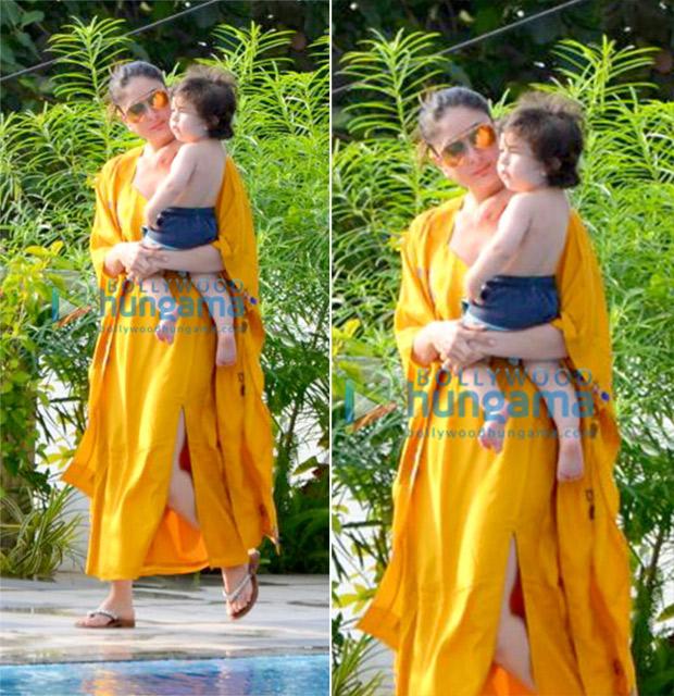 Kareena Kapoor Khan with Taimur Ali Khan Pataudi