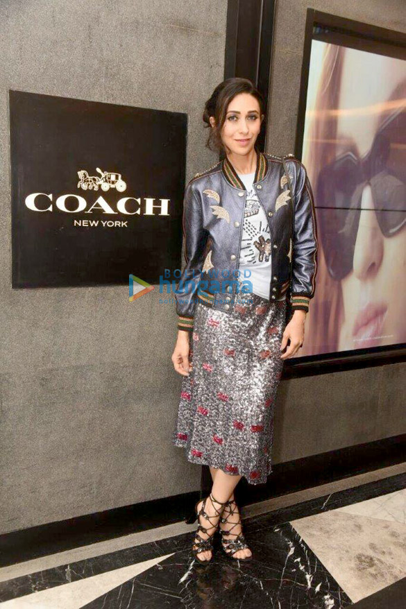 Karisma Kapoor graces the launch of the Coach store in Chennai