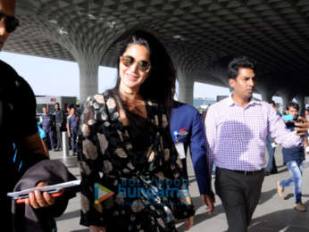 Katrina Kaif snapped at the airport while heading to Delhi