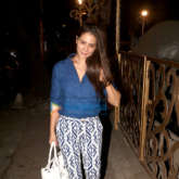 Kim Sharma spotted in Khar