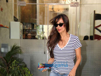 Malaika Arora spotted at Muah salon in Khar