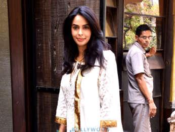 Mallika Sherawat snapped in Mumbai