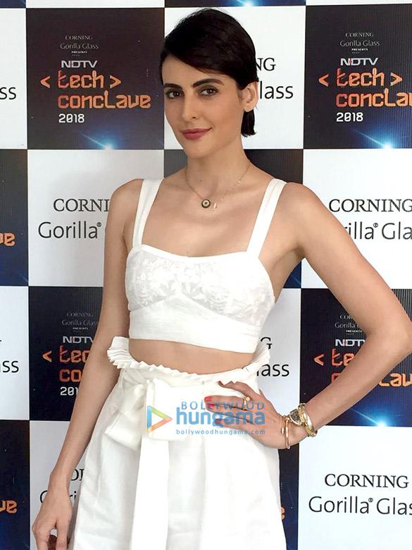 Mandana Karimi graces the NDTV Tech Conclave 2018