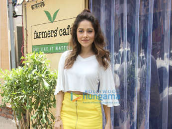 Nushrat Bharucha snapped at Farmer's Cafe