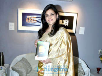 Poonam Dhillon attends the book launch of Gurudev On The Plateau of the Peak