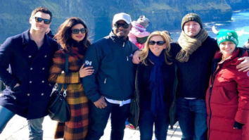 Quantico: Priyanka Chopra strikes a pose with her cast while shooting final episodes in Ireland