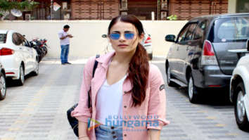 Radhika Madan spotted at Vishal Bhardwaj's office in Andheri