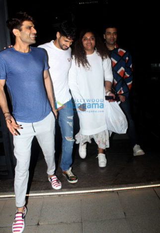 Rajkummar Rao, Patralekha, Karan Johar and others spotted at Yauatcha