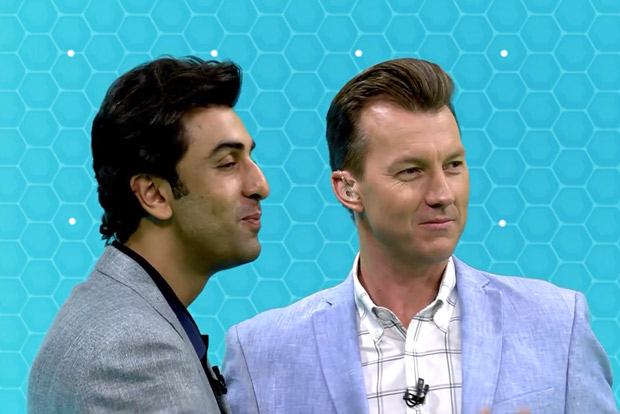 Watch: Ranbir Kapoor gives acting tips to Brett Lee and Michael Clark on Ranbir Ki Acting Paathshala