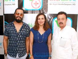 Randeep Hooda snapped at an event in Delhi