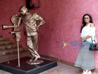 Rani Mukerji spotted at Yash Raj Studio in Andheri