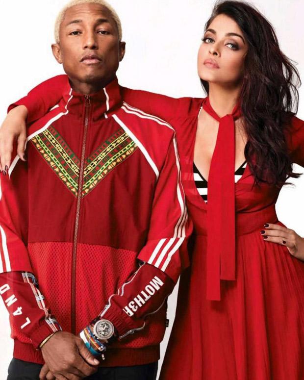 Red Alert - Aishwarya Rai Bachchan and Pharrell Williams